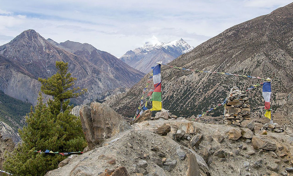 Annapurna Circuit Trek in spring
