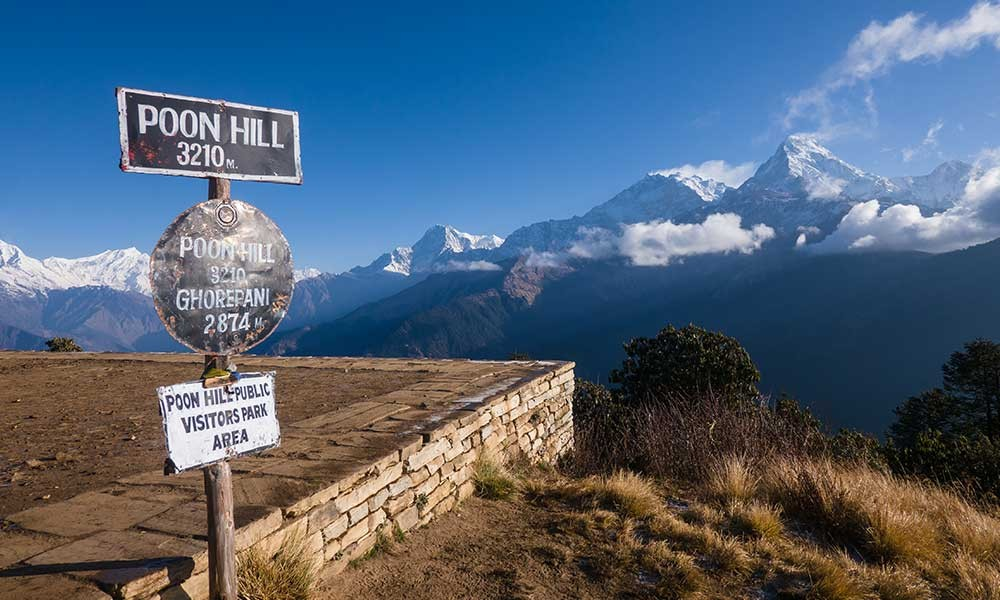 Ghorepani Village and Poon Hill