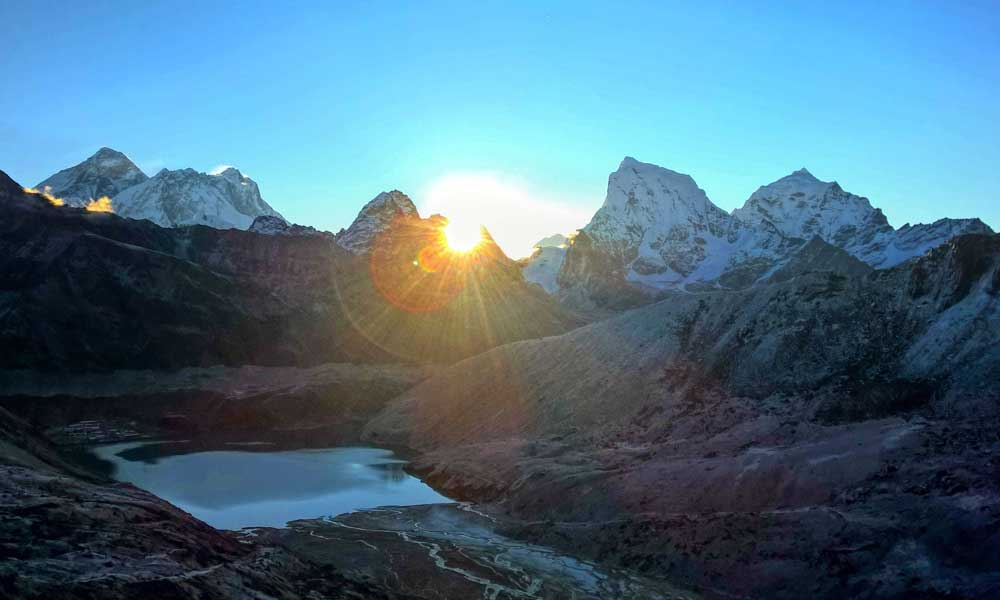 Gokyo Renjo La Pass Trek highest point