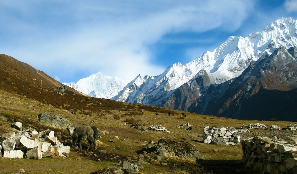 How to reach Langtang from Kathmandu