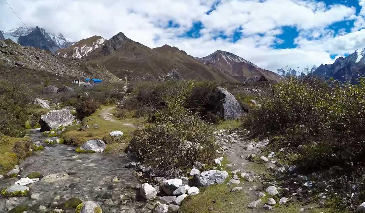 Langtang Valley Trek Route