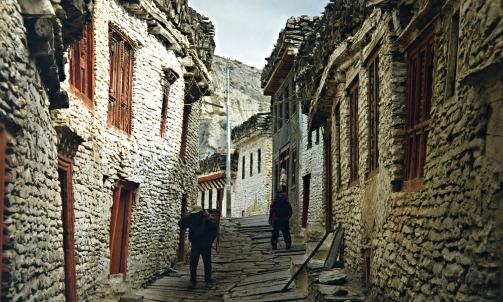 upper mustang trek 10 days accommodation