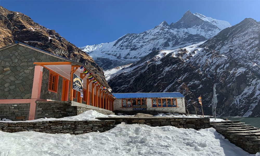 Annapurna Base Camp Luxury Trek