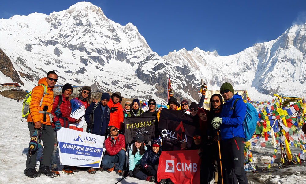 Treking in Annapurna Base Camp