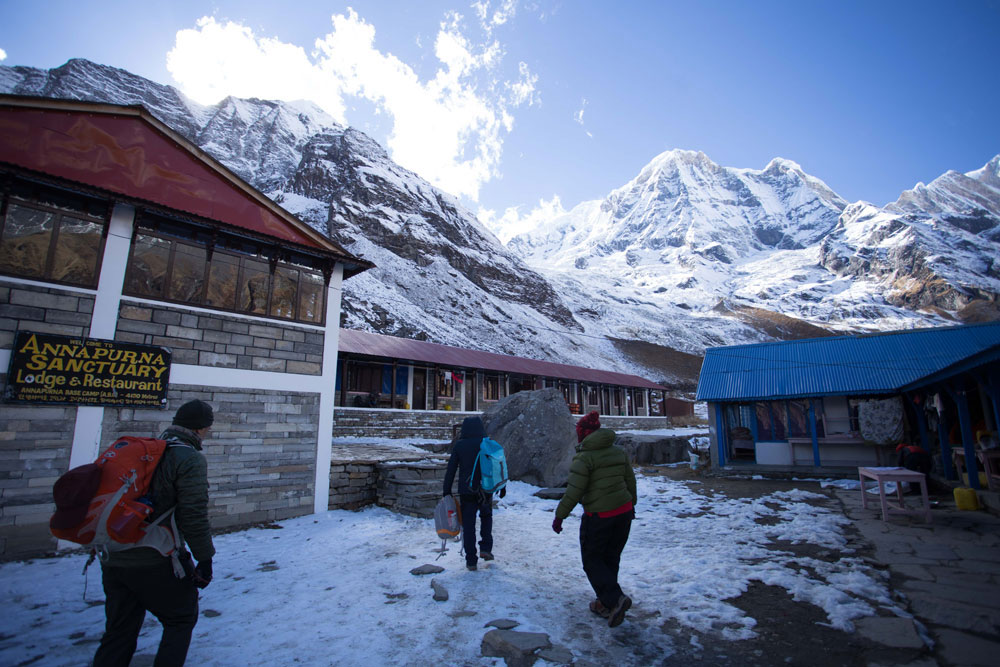 Annapurna Base Camp lodge