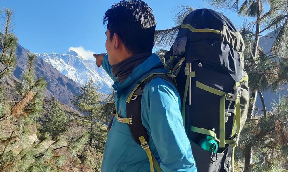everest three pass trek packing list