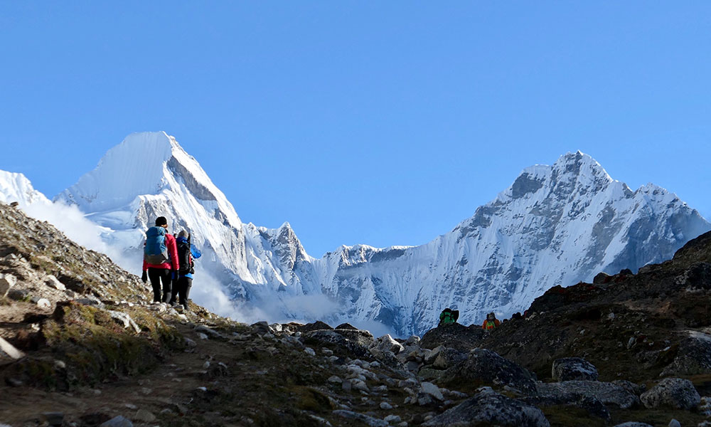 EBC Chola Pass with Gokyo Trek