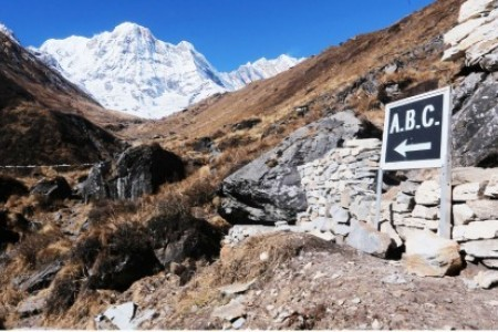 Annapurna Base Camp Trek in Novemer