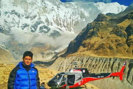 Annapurna Helicopter Tour Cost