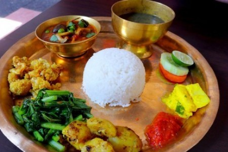 Food experience in Nepal