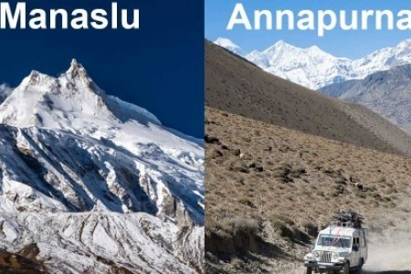 Manaslu Trek Vs Annapurna Circuit Trek