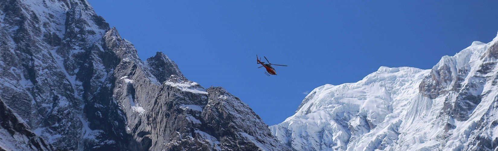 Annapurna Base Camp Helicopter Landing Tour from Pokhara