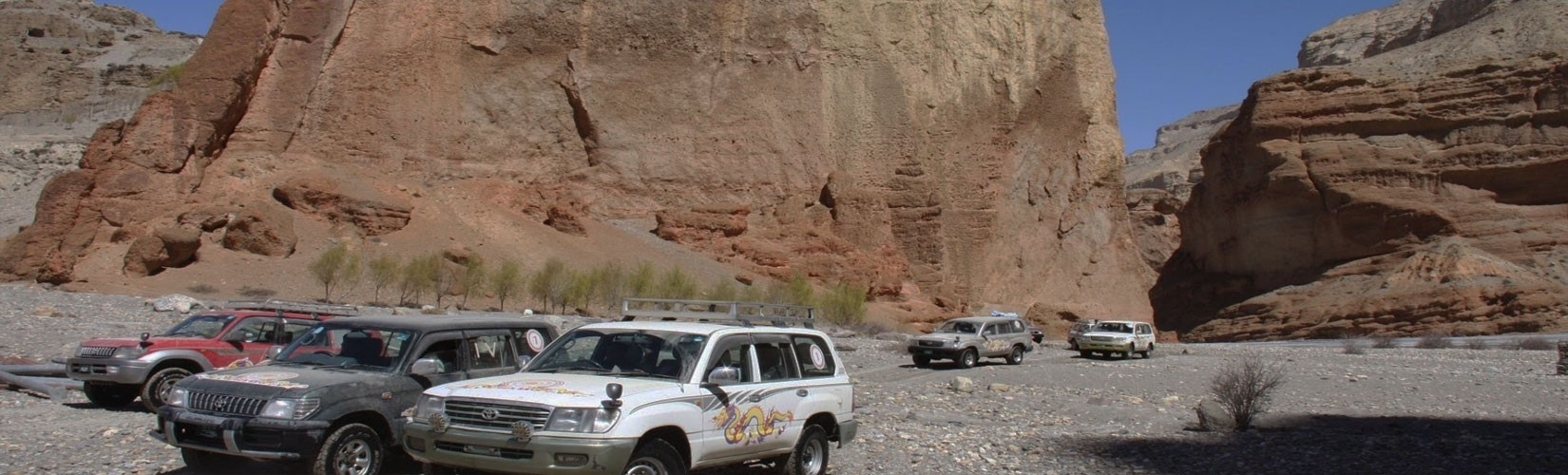 4 wheel jeep drive to Upper Mustang