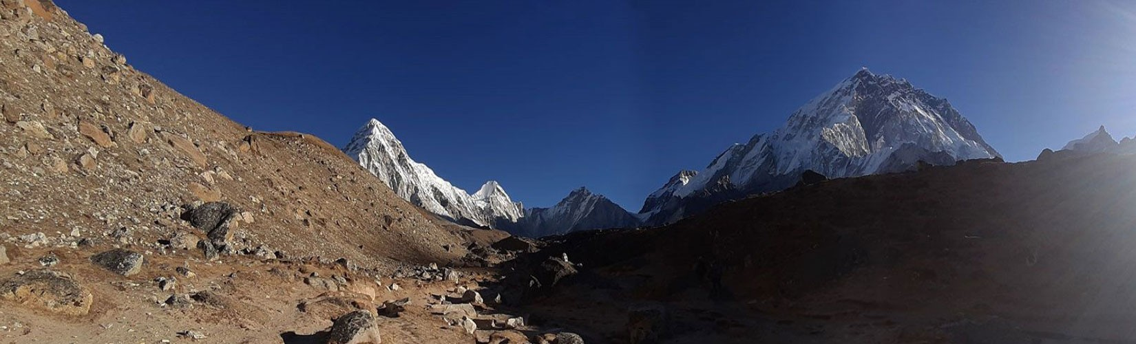 Trekking in Nepal in April