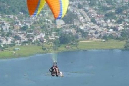 Paragliding in Pokhara-1day