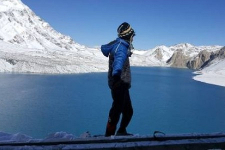 Tilicho lake with annapurna circuit trek